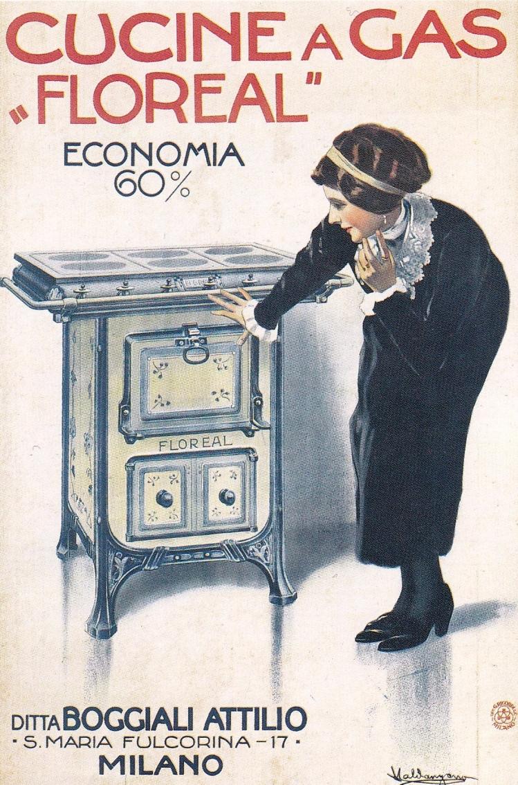 1915 Valdangano Cucine a gas Floreal Boggiali