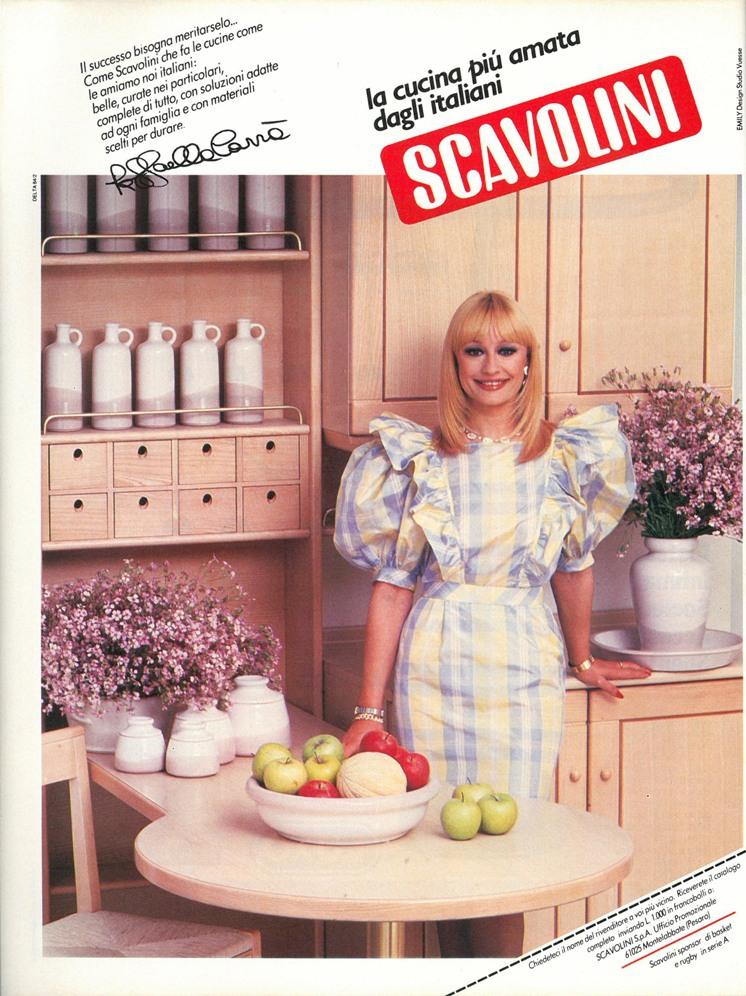 1986 Scavolini abitare