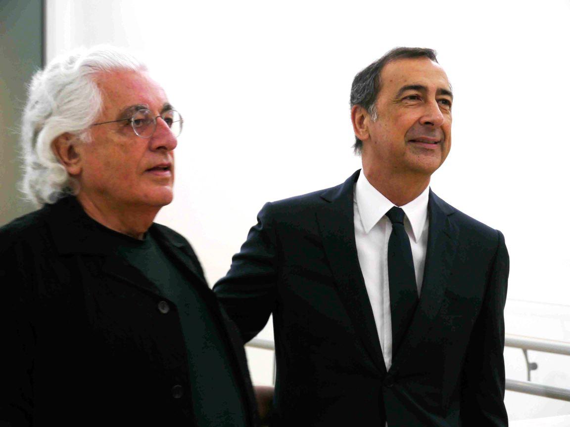 Germano-Celant-and-Giuseppe-Sala