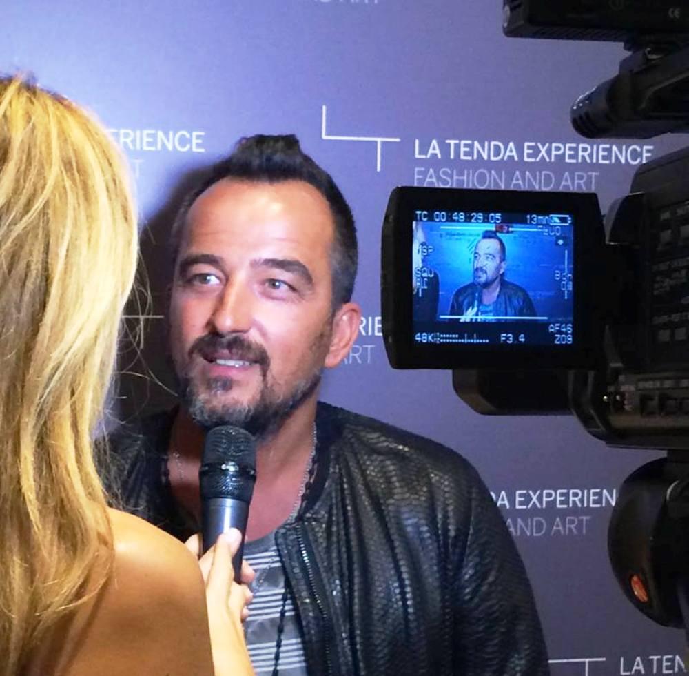 Giorgio Braschi, designer del marchio Giorgio Brato, intervistato da Jo Squillo per ClassTv Moda