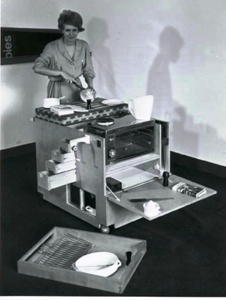 Joe Colombo_Mini kitchen , boffi 1963
