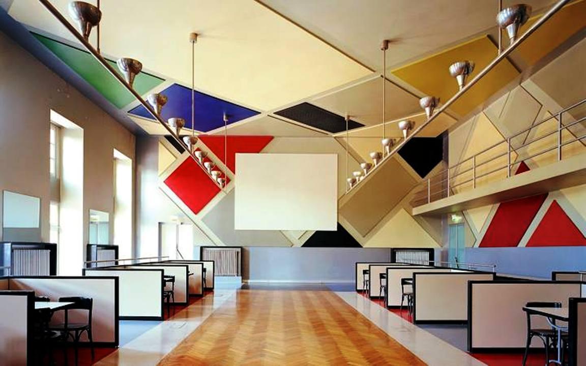Theo van Doesburg, Café de l'Aubette, 1926-1928, Rotterdam