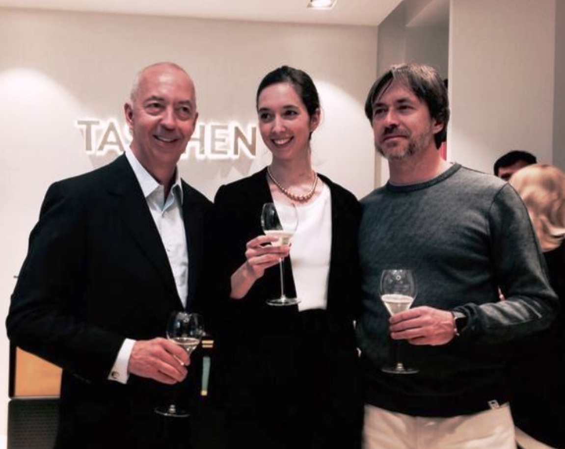 benedikt and marlene taschen with marc newson