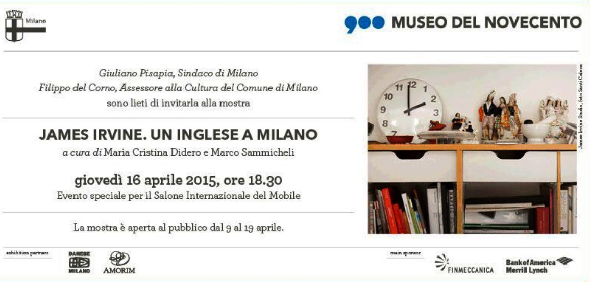 james irvine museo milan 2015