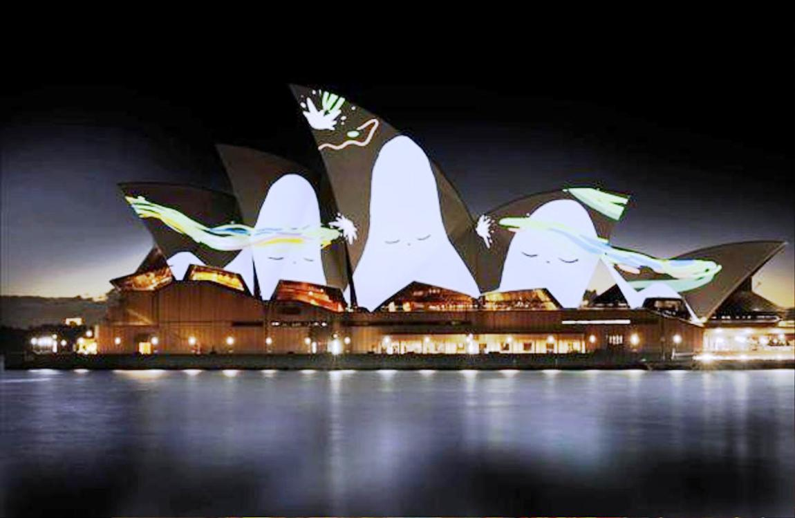 lighting the sails 2015 vivid live sydney (1)