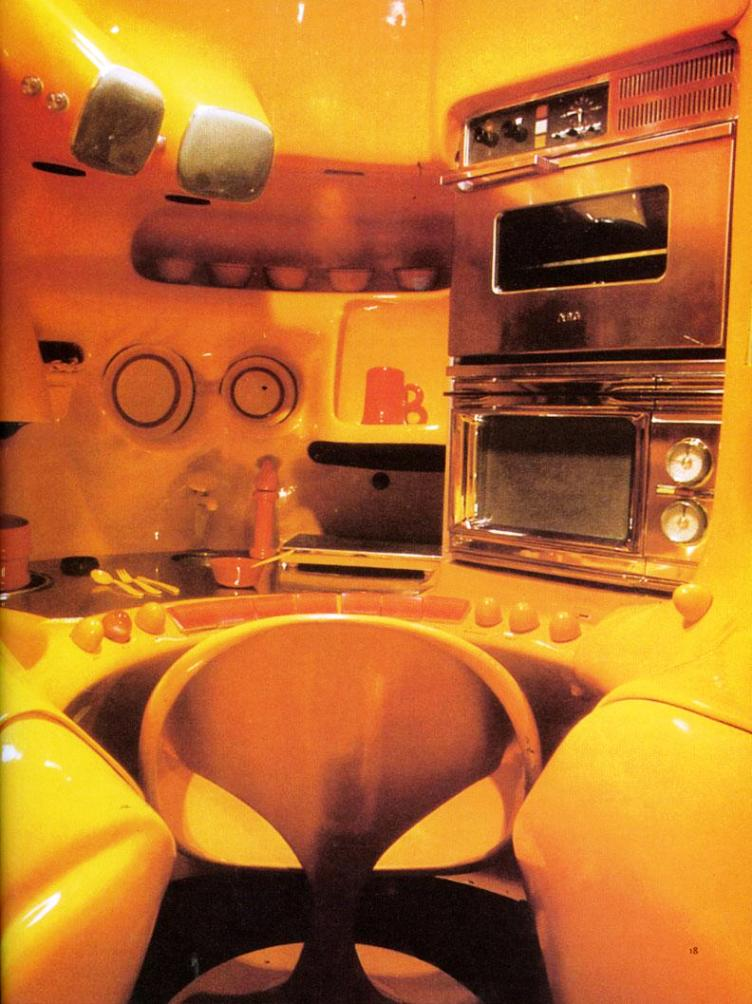luigi colani satellite kitchen