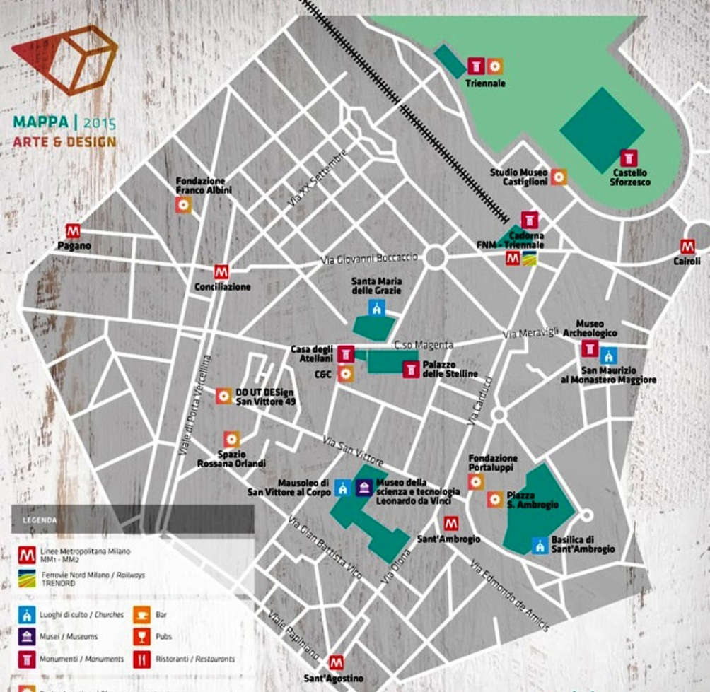 map zona sant'ambrogio