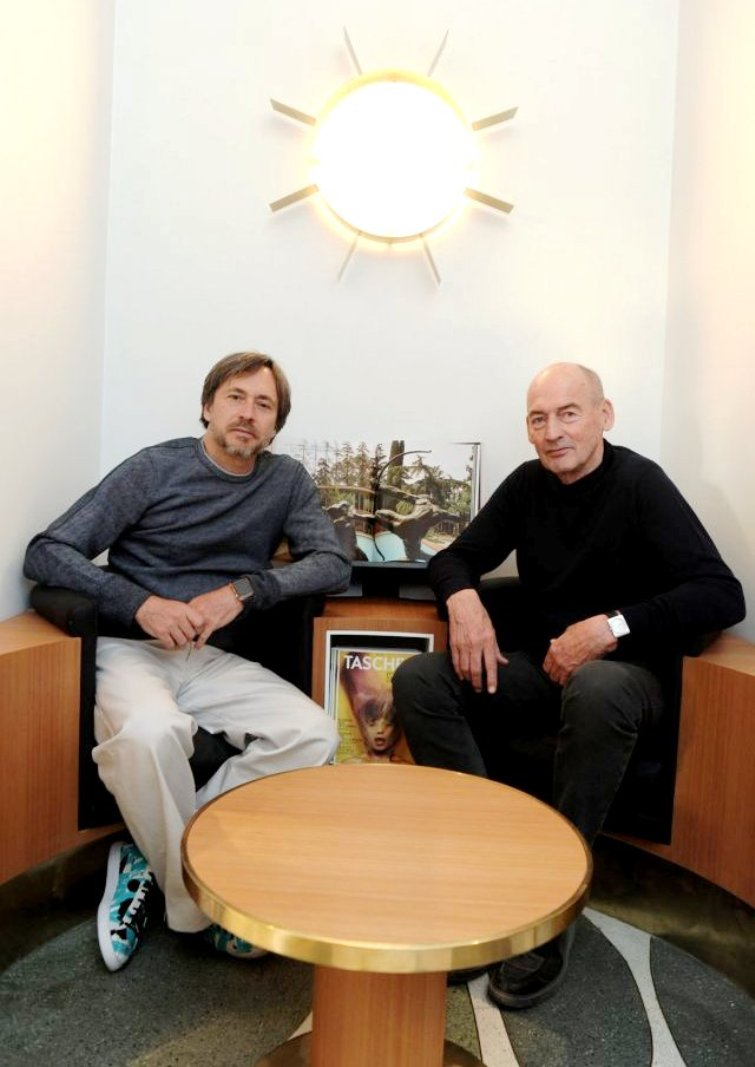 marc newson and rem koolhaas at taschen