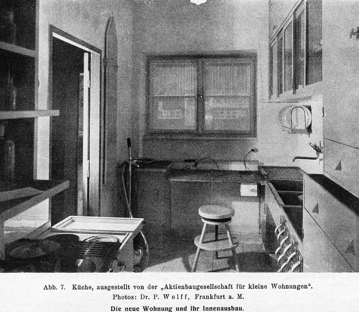 margarete Schutte-Lihotzkys frankfurt kitchen