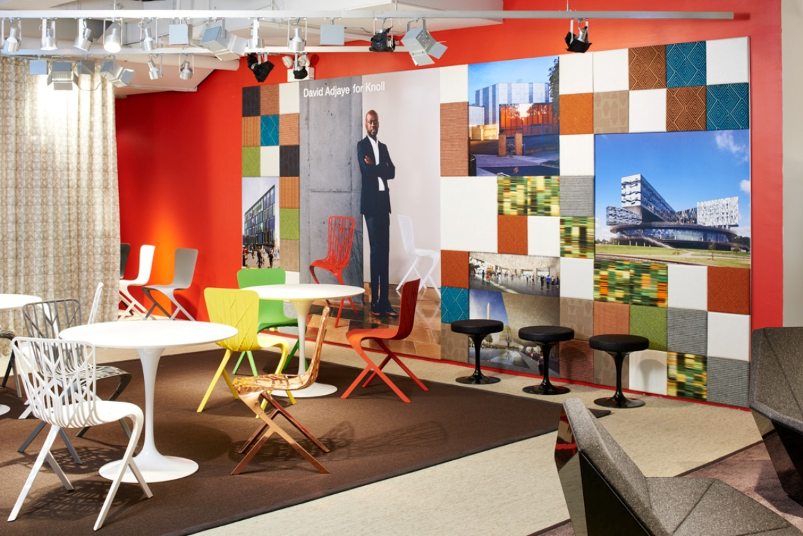Knoll NeoCon 2015 adjaye washington textiles
