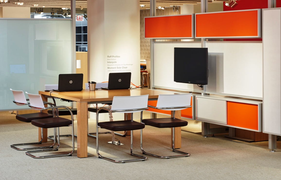 Knoll NeoCon 2015 reff profiles meeting table interpole