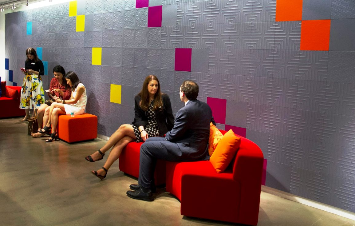 knoll neocon 2015 Impressions Acoustic panels