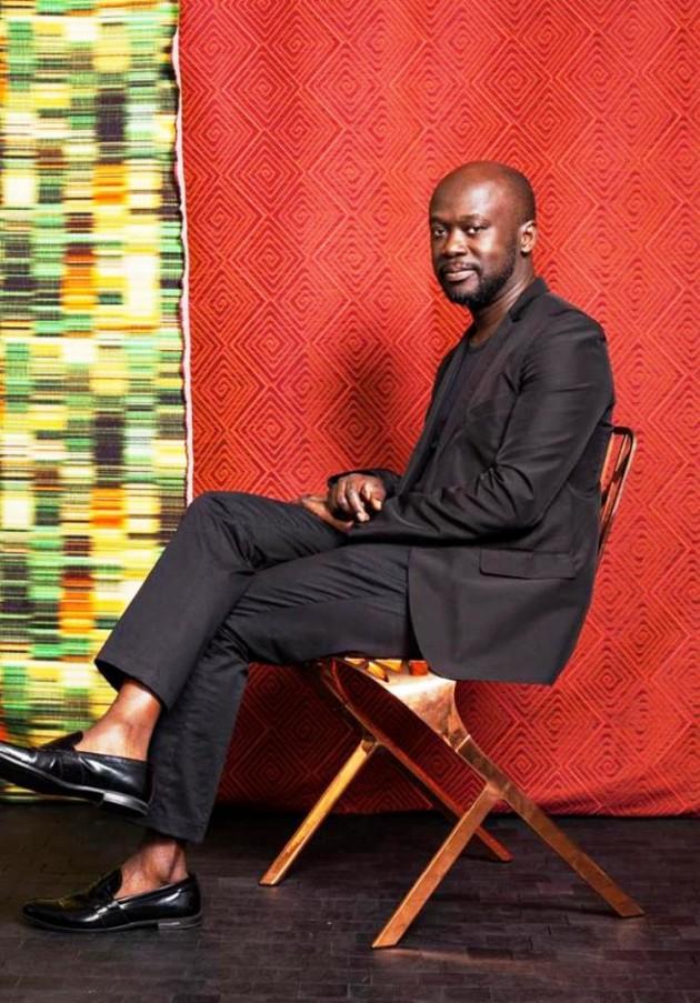 David Adjaye for Knoll Textiles @ Neocon 2015