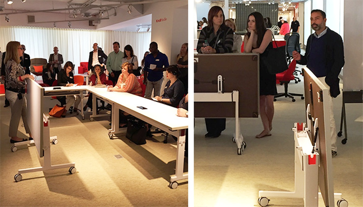 knoll neocon 2015 pixel tables