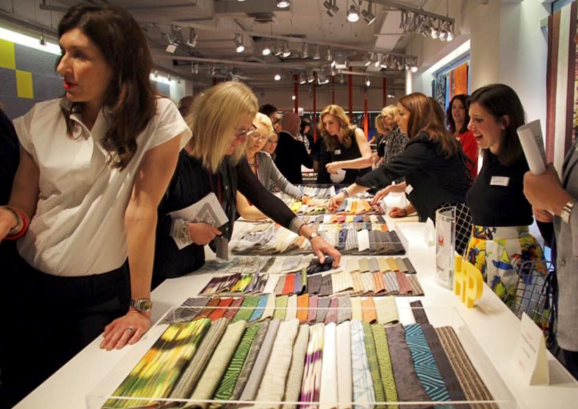 knoll neocon 2015 textiles showroom