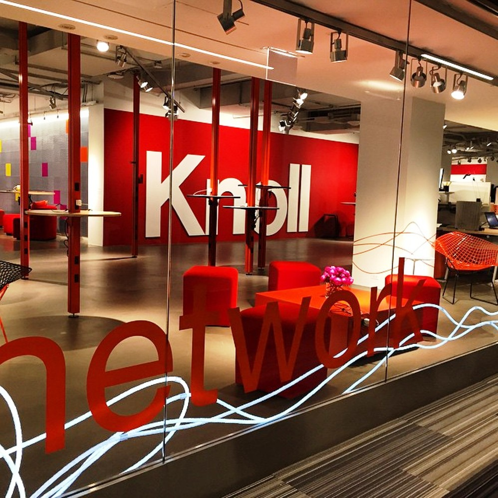 knoll showroom chicago neocon 2015