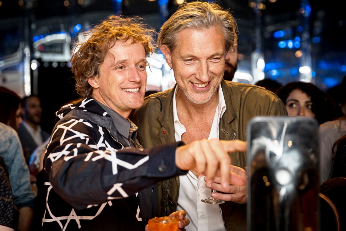 yves behar and marcel wanders at soalchemy lounge