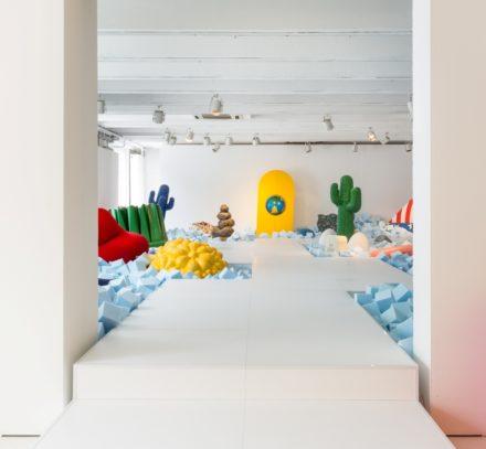 Gufram – On the Rocks @ Salone Milan 2016