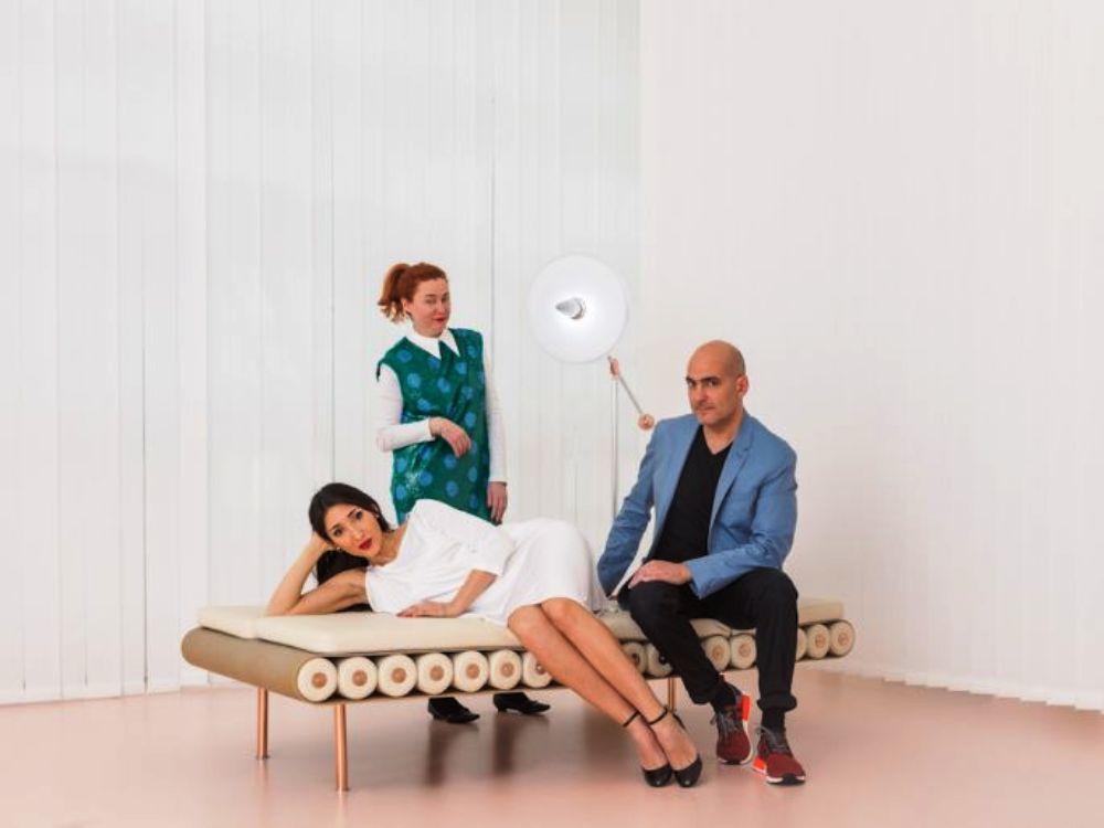Laura Baldassari, Maria Cristina Didero and Alberto Biagetti No Sex