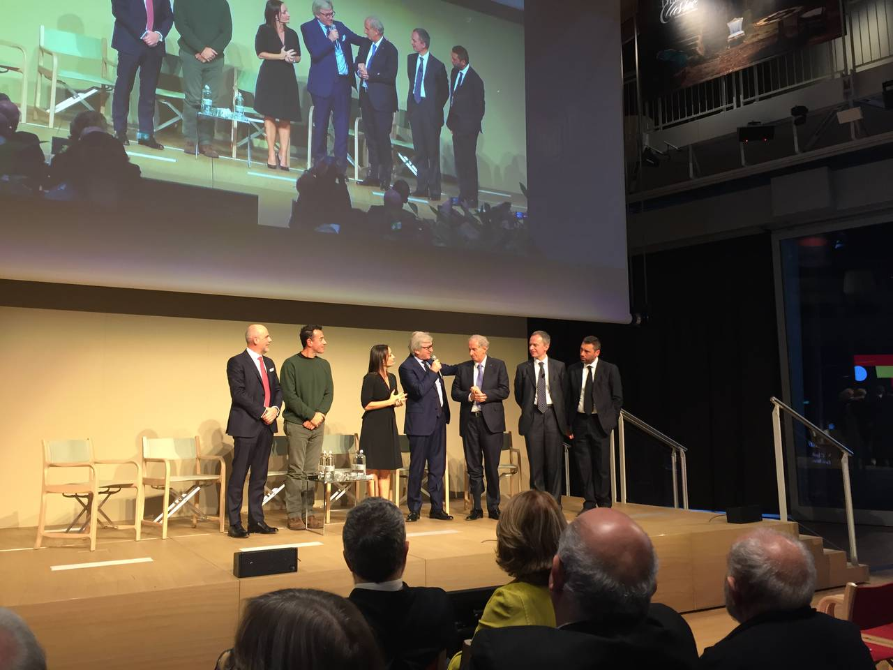 Mauro Guzzini, Matteo Garrone, Camila Raznovich, Roberto Snaidero, Giovanni Anzani, Giovanni De Ponti, Alberto Scavolini