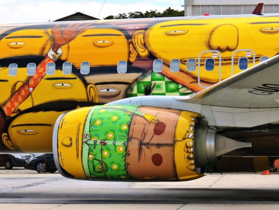 OS GEMEOS BRAZILIAN AIR (1)