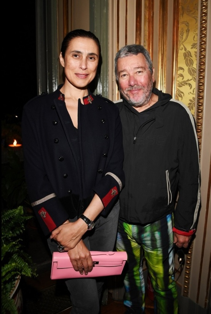 Philippe and Jasmine Starck