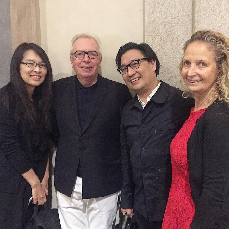 Rossana Hu, David Chipperfield, Lyndon Neri and Evelyn Chipperfield