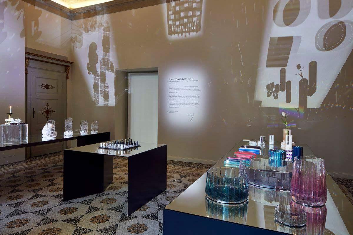 atelier swarovski home salone milan 2016
