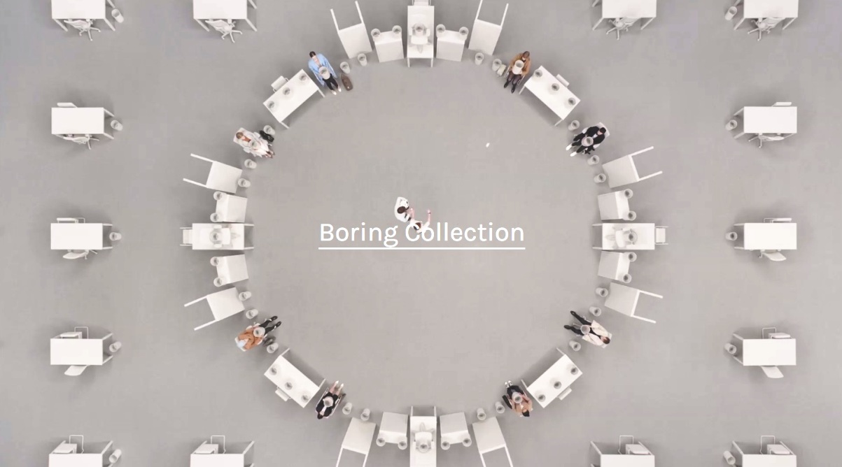 boring collection video