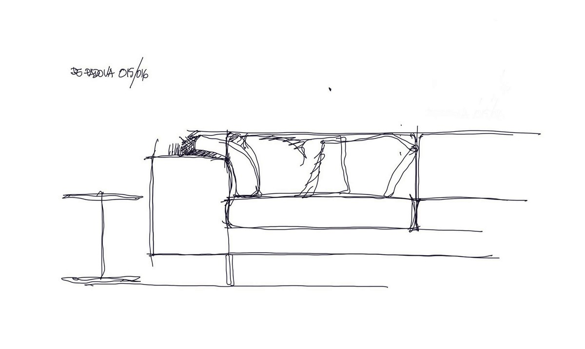 depadova landscape sofa by piero lissoni