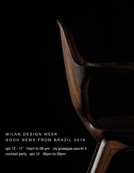 Sollos – Good News from Brazil @ Salone Milan 2016