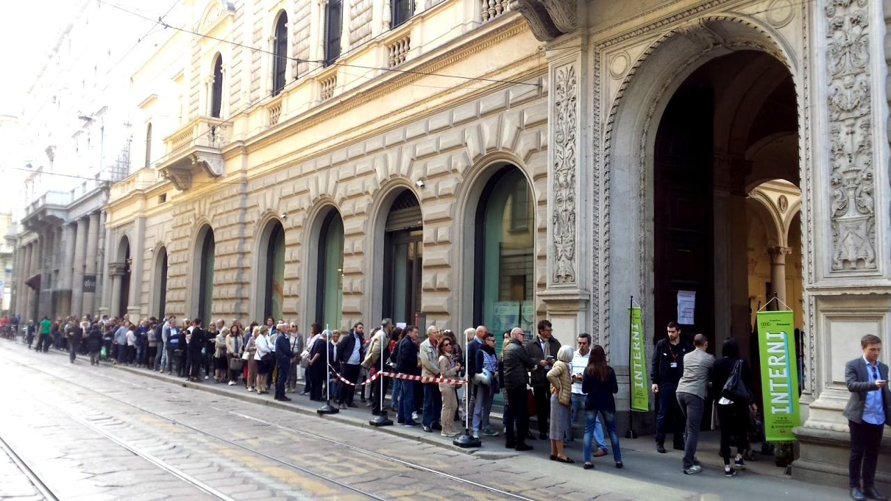 masterly dutch queue salone milan 2016