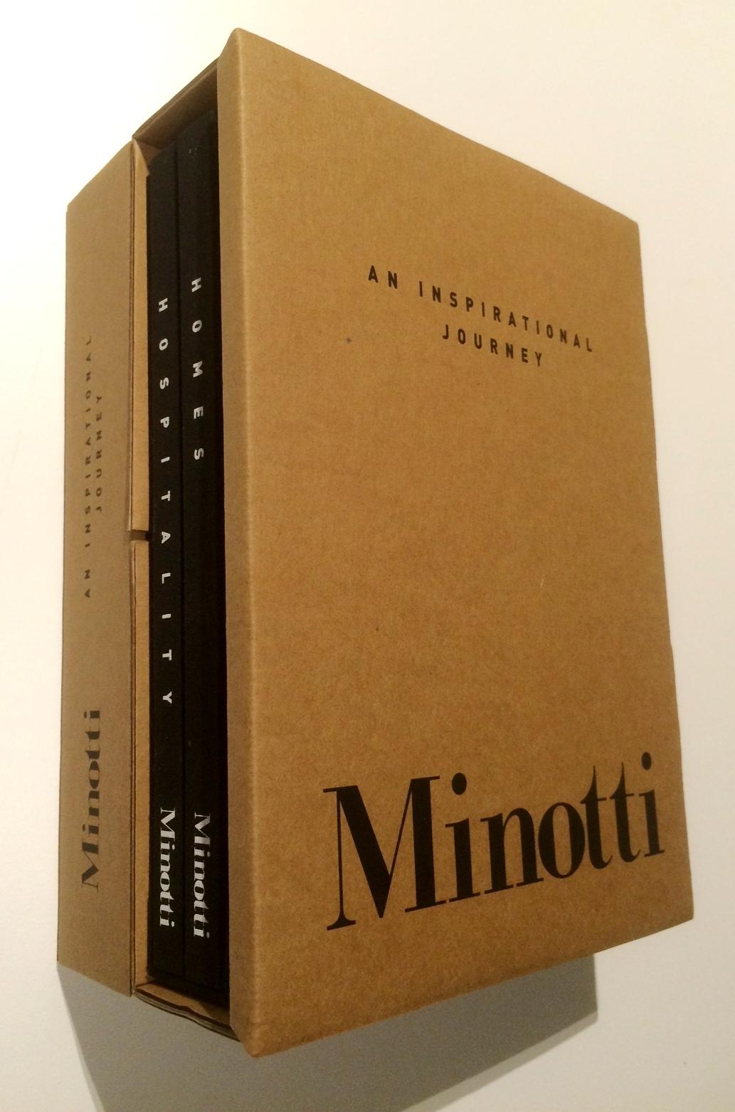 minotti inspirational journey books