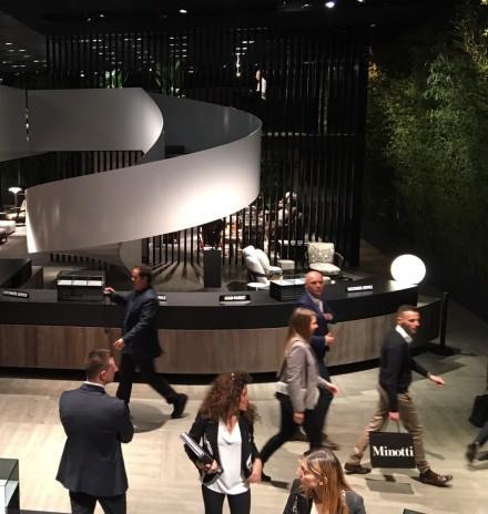 """Minotti – """" A New Home Attitude"""" @ Salone Milan 2016"""