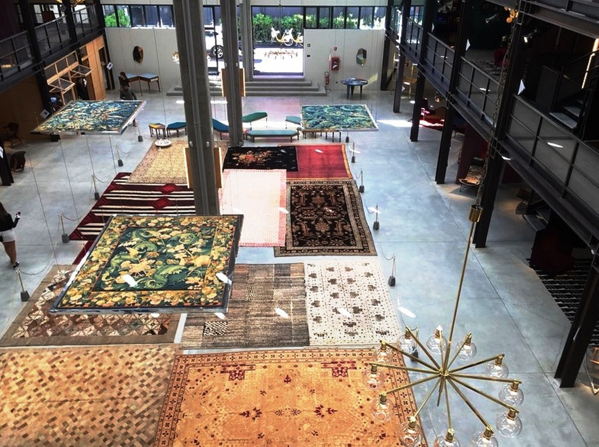 nilfur depot rugs salone 2016 (1)