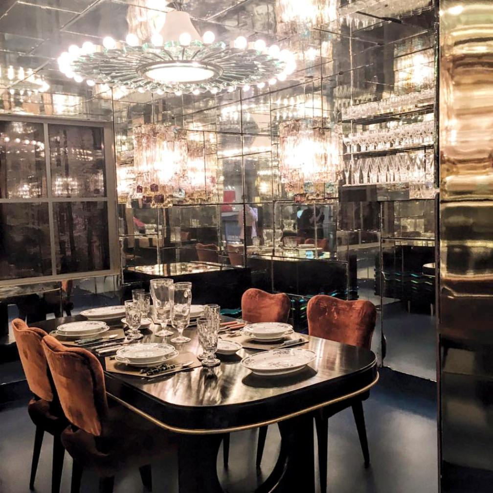 nilufar mirror room salone milan 2016