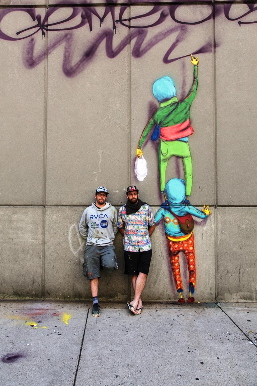 os gemeos street artists (2)