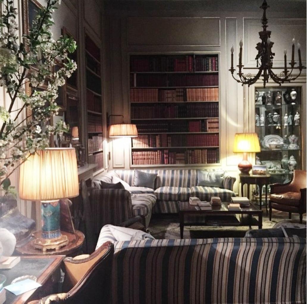 palazzo crespi book room