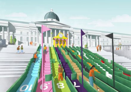 Visionary Crazy Golf @ London Design Festival 2016