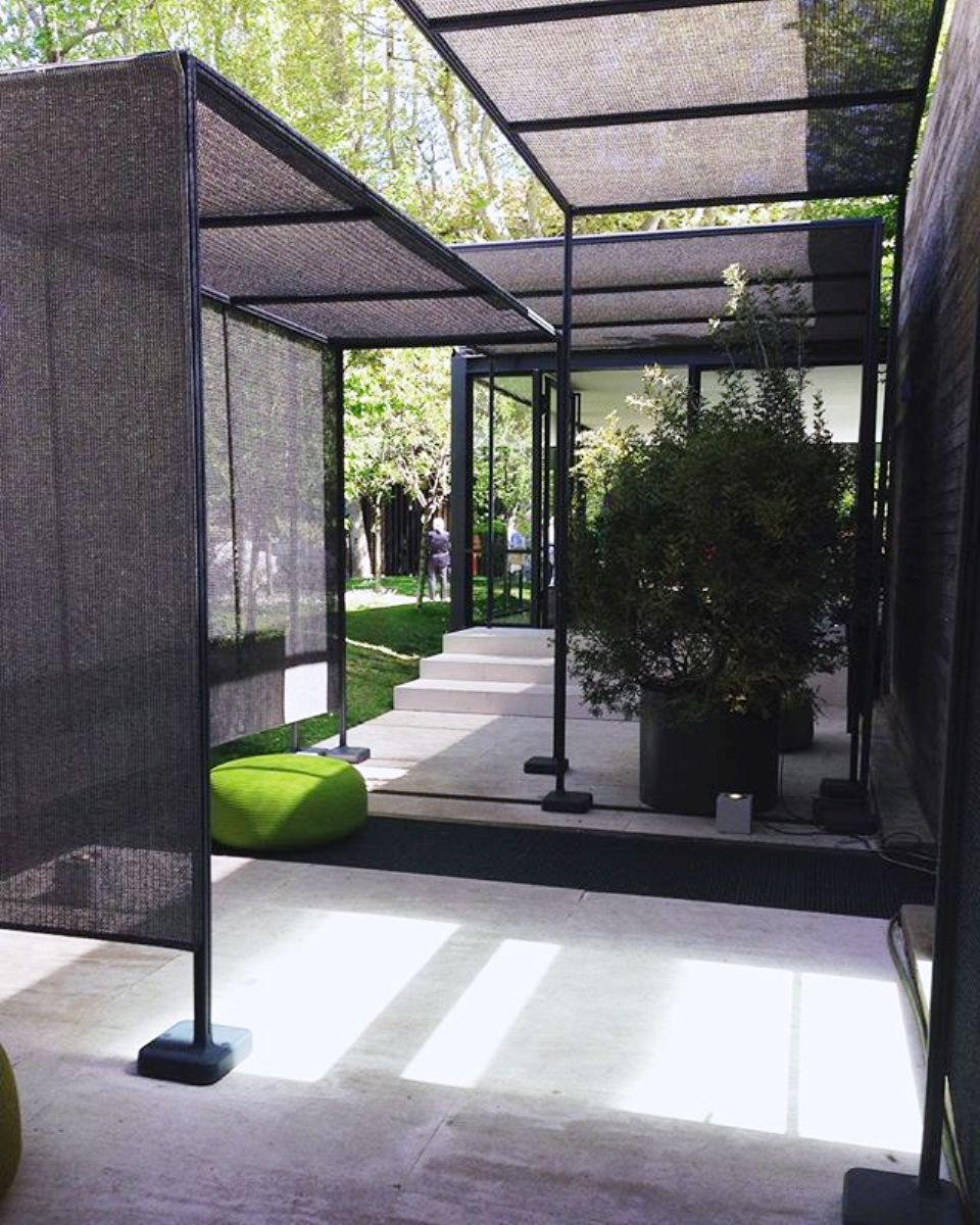 pavilions at paola lenti salone milan 2016