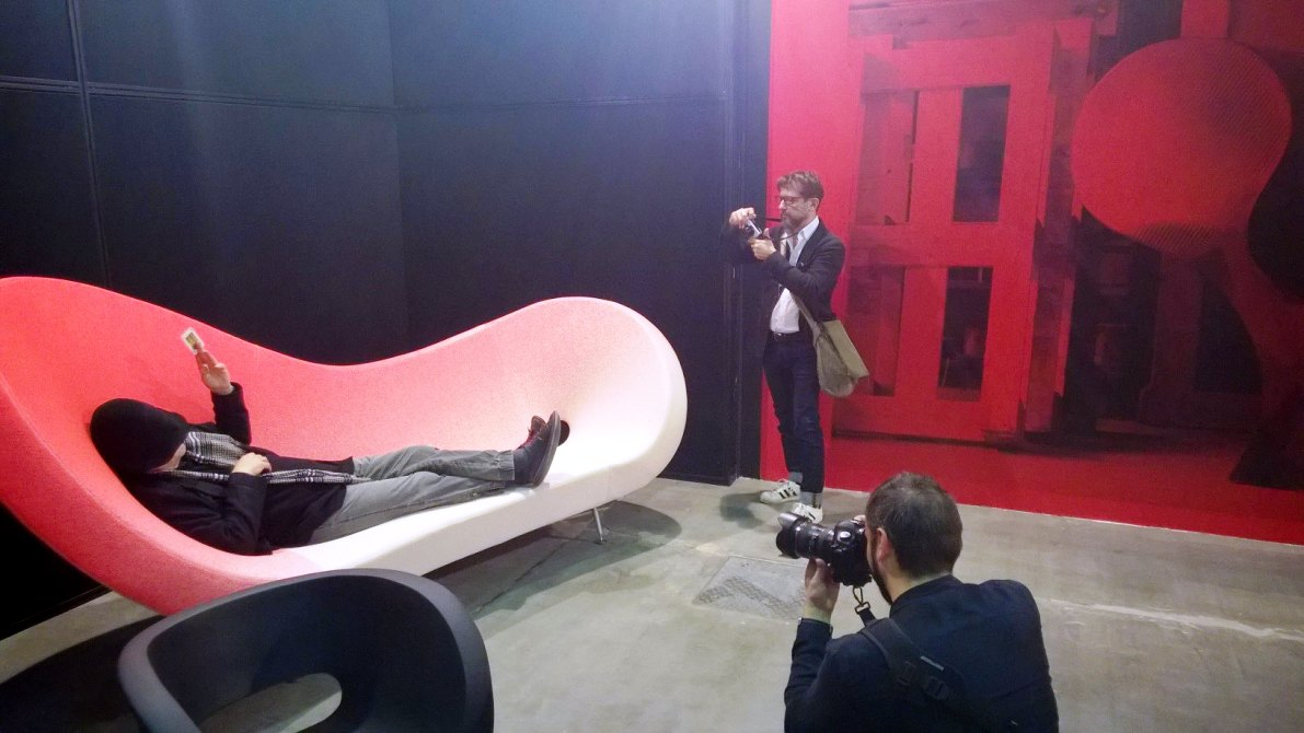 ron arad at press launch 2016 salone
