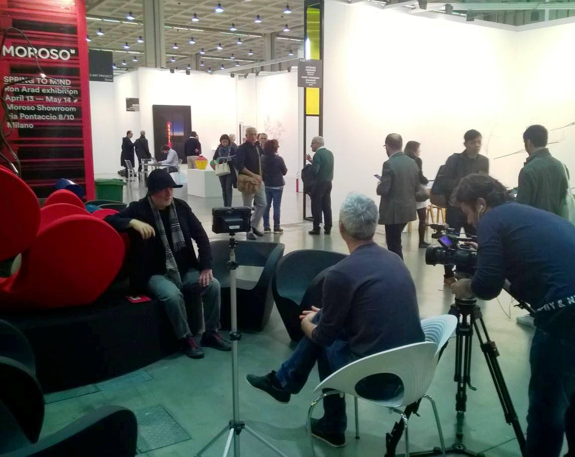 ron arad press interviews moroso 2016