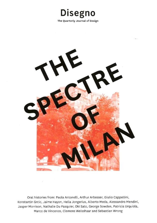 The Spectre of Milan @ Salone Milan 2016