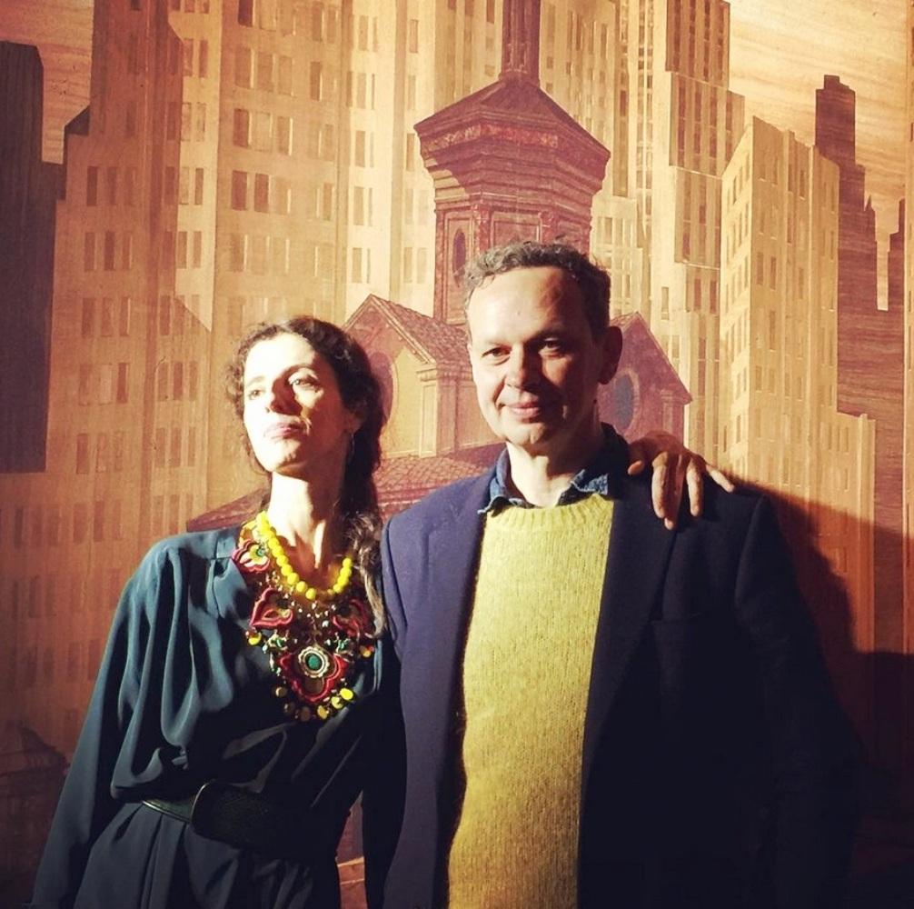 tom dixon and Sveva Camurati
