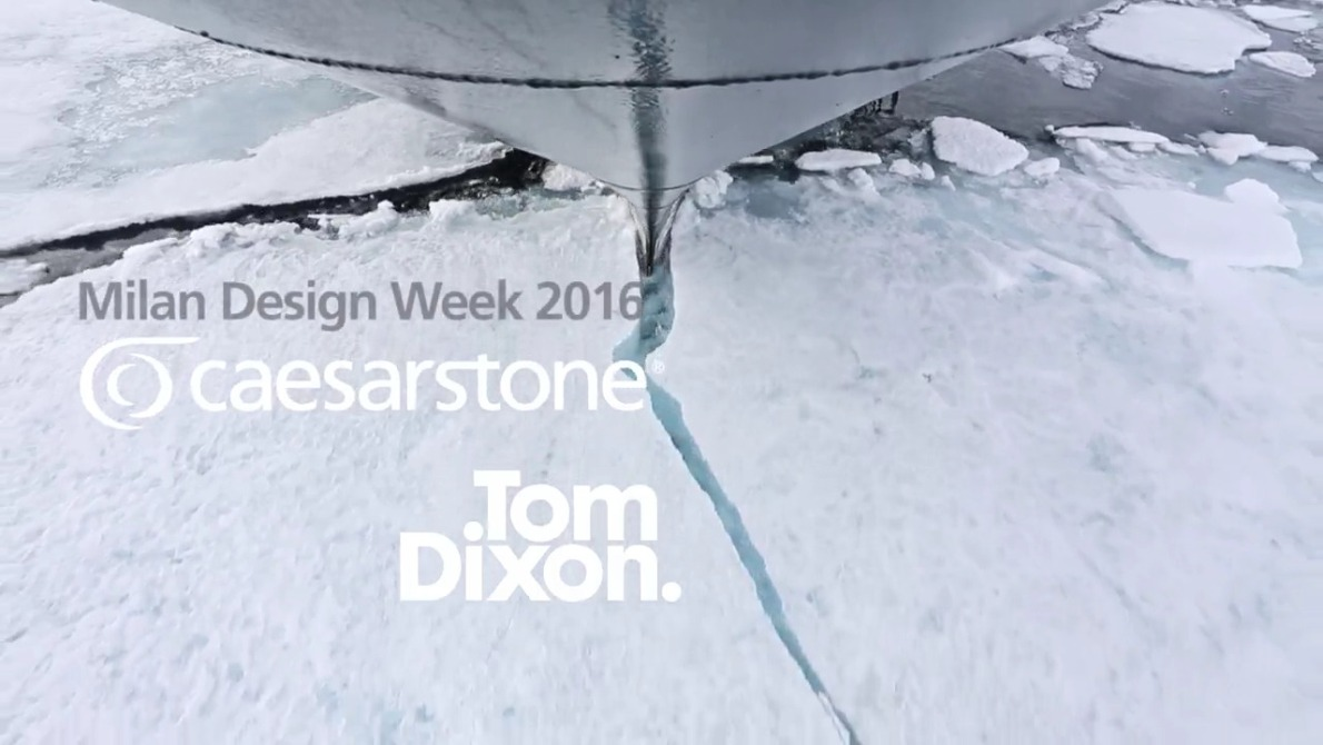 tom dixon caeserstone video