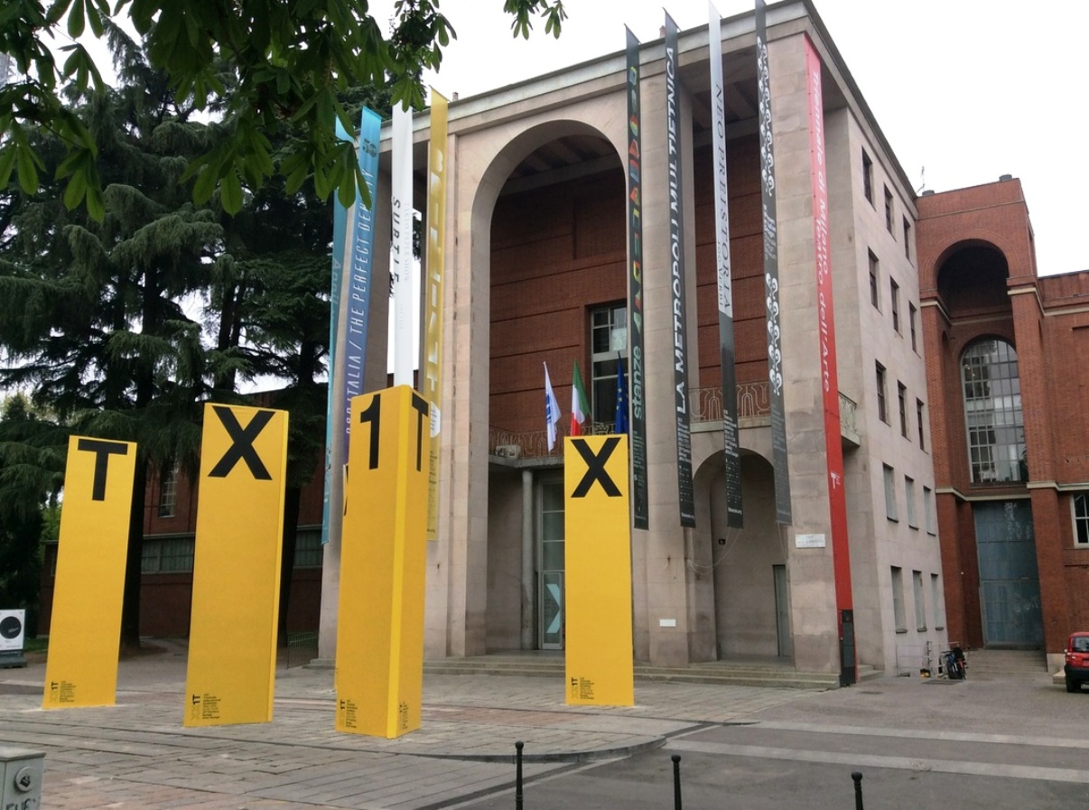 Triennale Building entry