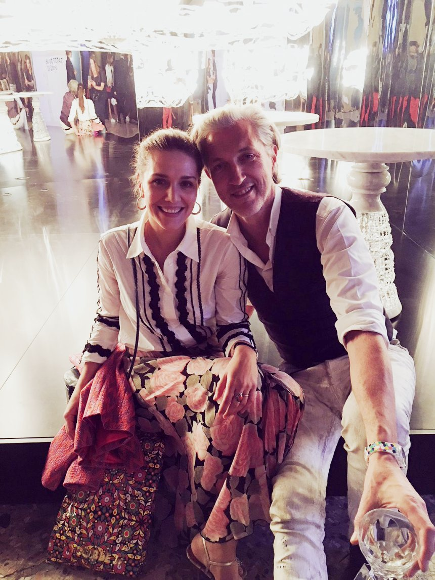 Marcel Wanders and Margherita Maccapani Missoni