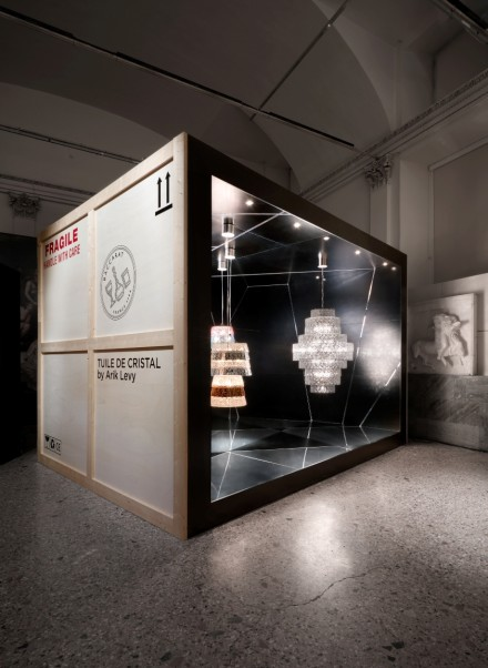 Baccarat Lumieres Out of the Box @ Salone milan 2016