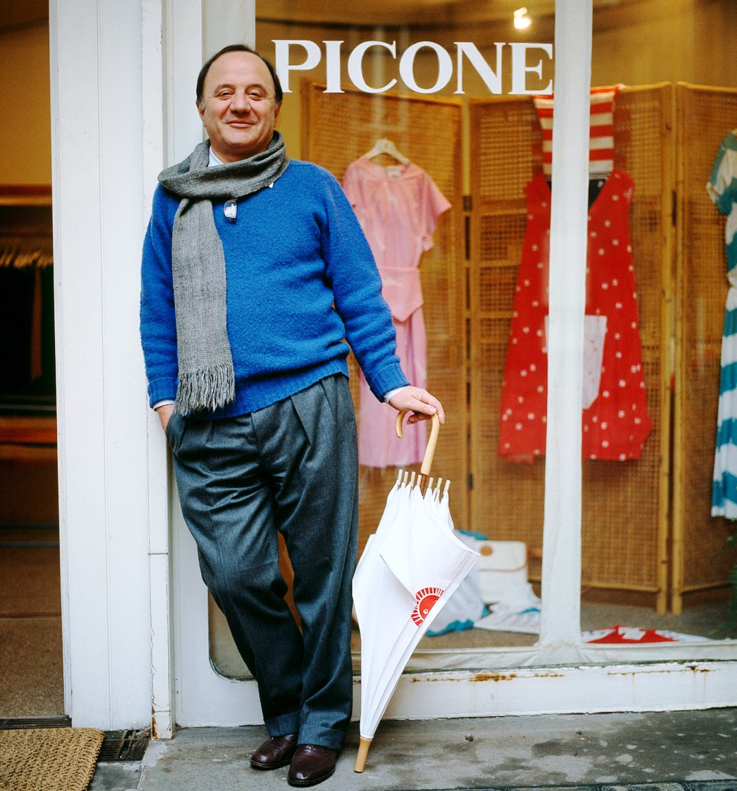 giuseppe picone and his umbrella