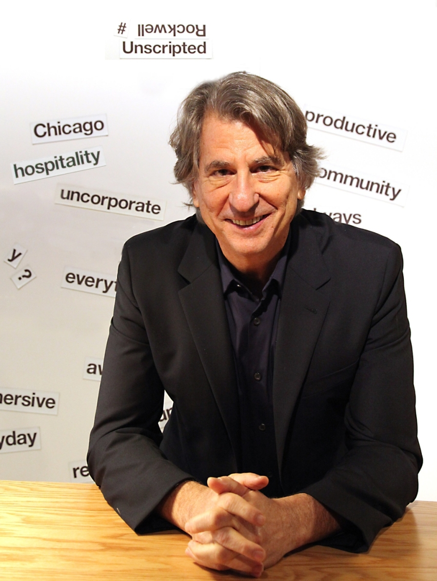 david rockwell at knoll neocon